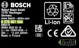 Bosch Etikett Modellnummer