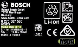 Bosch Etikett Seriennummer