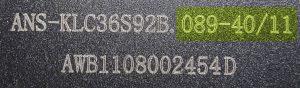 Ansmann-Etikett-Modellnummer