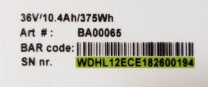 Qwic_Seriennummer